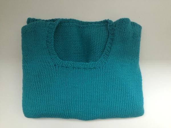 premier pull tricoté